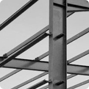 Steel structures of building frames