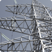 Power transmission towers, towers